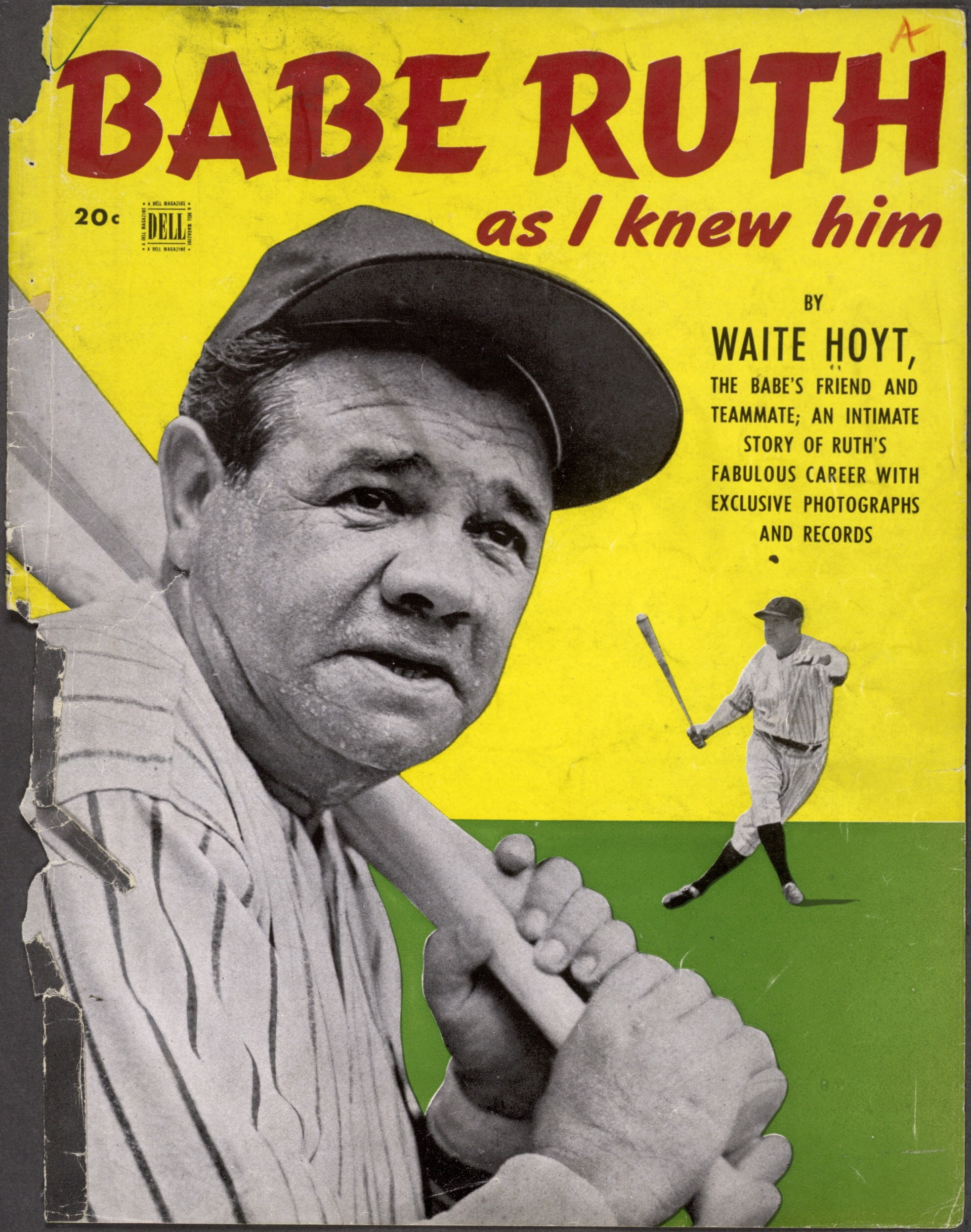 """<b>Babe Ruth</b> as I Knew Him"" - 0000v"