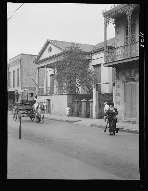 General Beauregard's house, 1113 Chartres Street, New Orleans