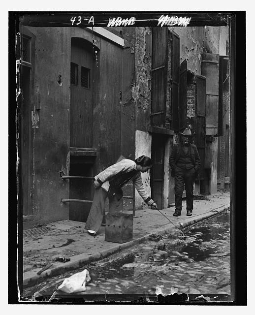 The street of the slave girls, Chinatown, San Francisco