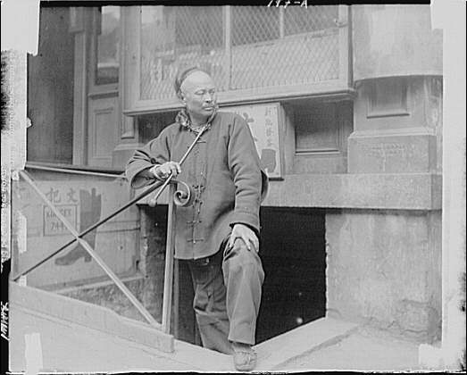 The shoe maker, Chinatown, San Francisco