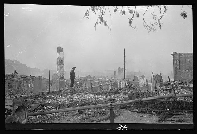 On the ruins (April 1906), Chinatown, San Francisco