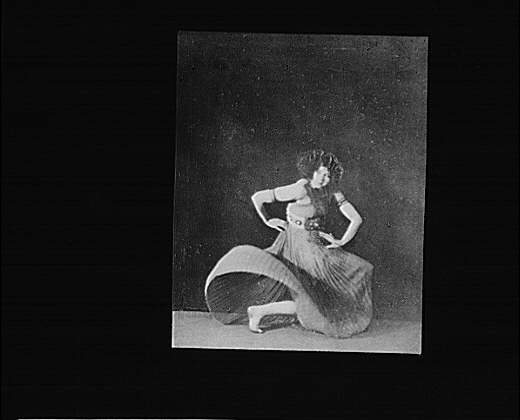 Ruth St. Denis dancing