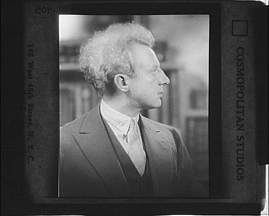 Portrait photograph of Leopold Stokowski