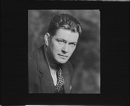 Portrait photograph of Gene Tunney
