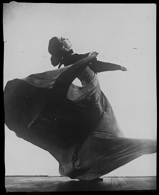 Unidentified woman dancing
