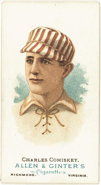 [Charles Comiskey, St. Louis Browns, baseball card portrait]