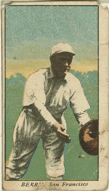 [Berry, San Francisco Team, baseball card portrait]