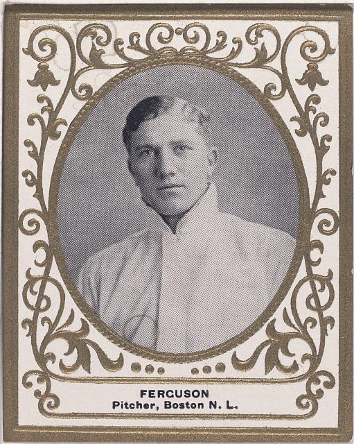 [George Ferguson, Boston Doves, baseball card portrait]