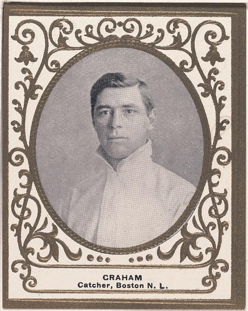 [Peaches Graham, Boston Doves, baseball card portrait]