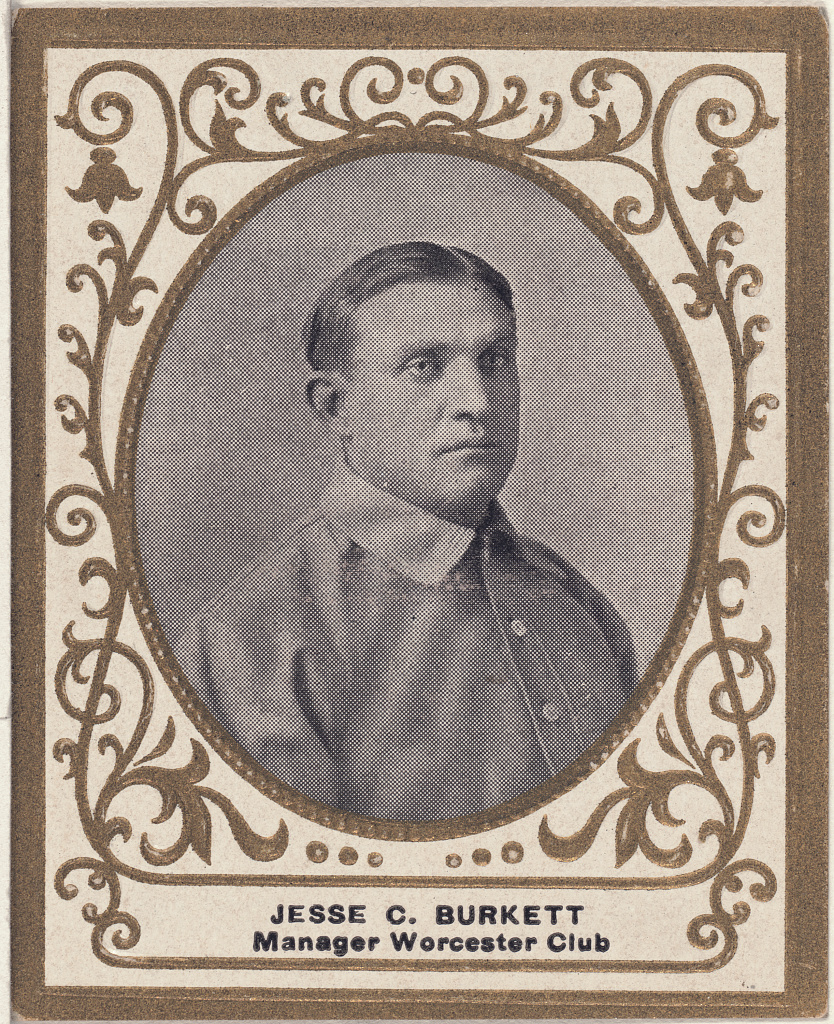 Library of Congress photo of Jesse Burkett