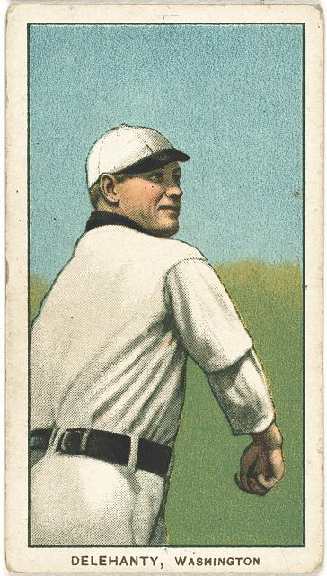 [Delahanty, Washington Nationals, baseball card portrait]