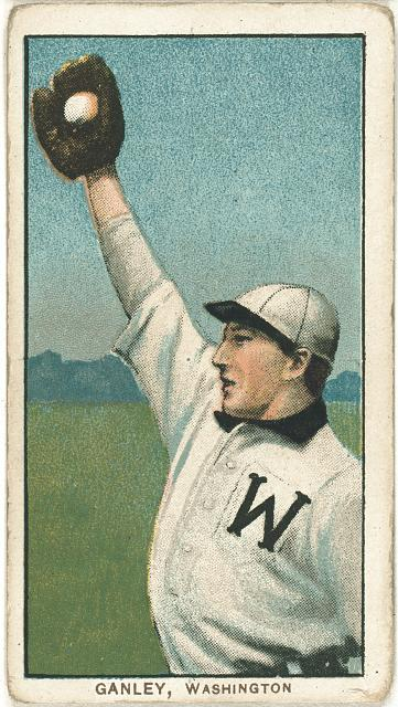 [Bob Ganley, Washington Nationals, baseball card portrait]