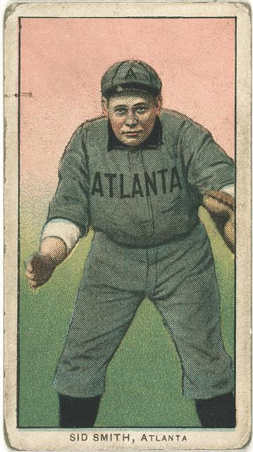 [Sid Smith, Atlanta Team, baseball card portrait]