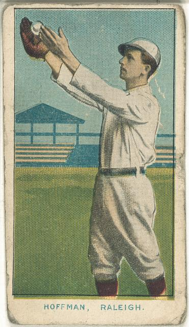 [Hoffman, Raleigh Team, baseball card portrait]