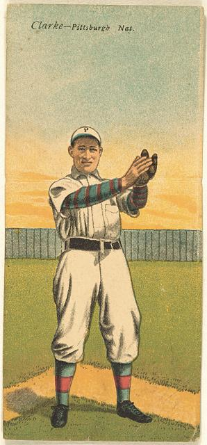 [Fred Clarke/R. Byrne, Pittsburgh Pirates, baseball card portrait]
