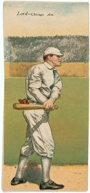 [Harry D. Lord/P. H. Dougherty, Chicago White Sox, baseball card portrait]
