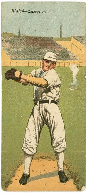 [Edward A. Walsh/Frederick Payne, Chicago White Sox, baseball card portrait]