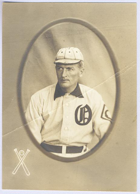 [Harry Wolverton, Oakland Team, baseball card portrait]