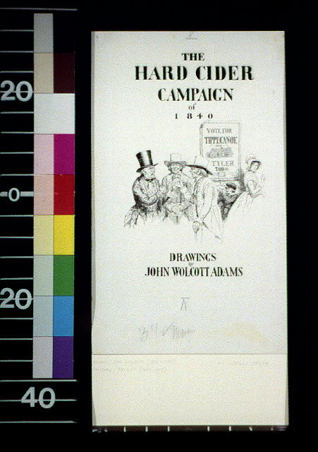 The hard cider campaign of 1840