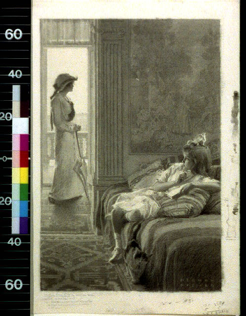 Jane Hyde looked about her, but did not see the flaxen head propped among the pillows in the corner