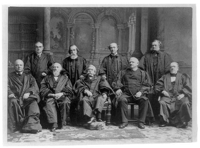 The Supreme Court - group portrait