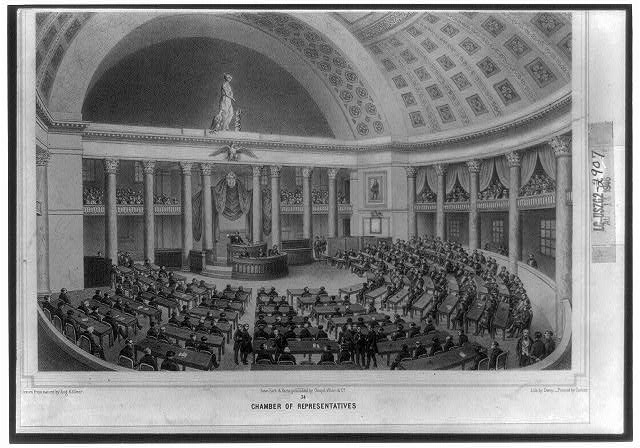 Washington. 34, Chamber of representatives