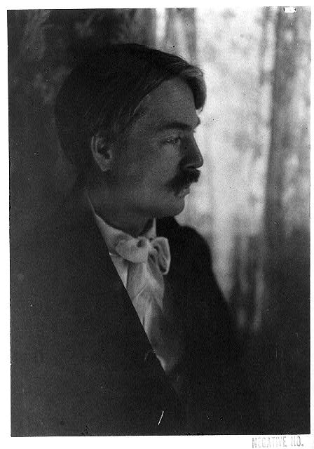 [Portrait of Edward MacDowell, facing right]