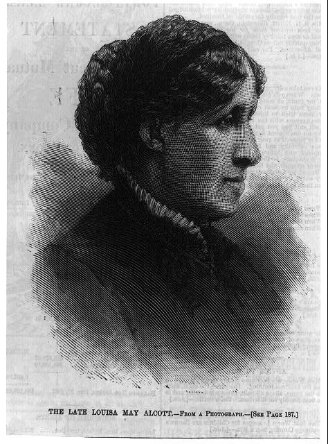 The late Louisa May Alcott
