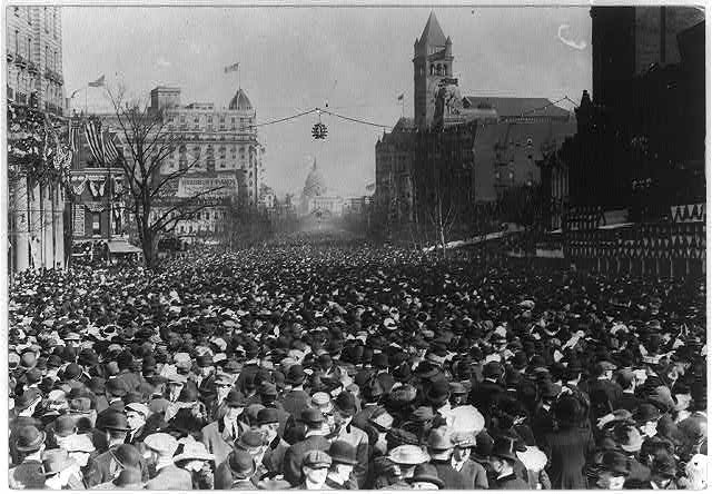 Woman's suffrage parade, Wash., D.C. Mar., 1913