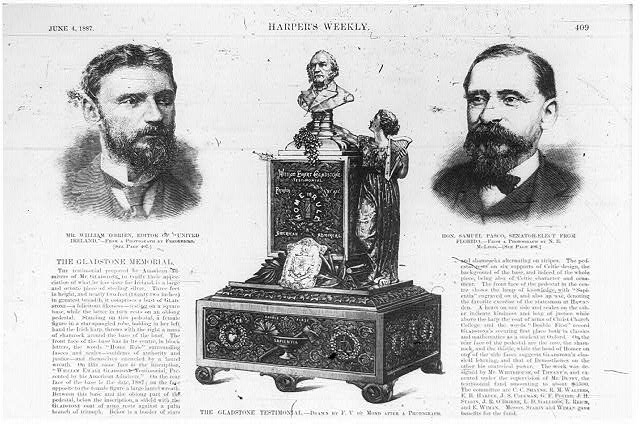 [Half-page of Harper's Weekly, June 4, 1887, p. 109, with 3 illustrations]