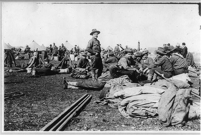 U.S. Army 1911 maneuvers in Texas: 17th Infantry in camp
