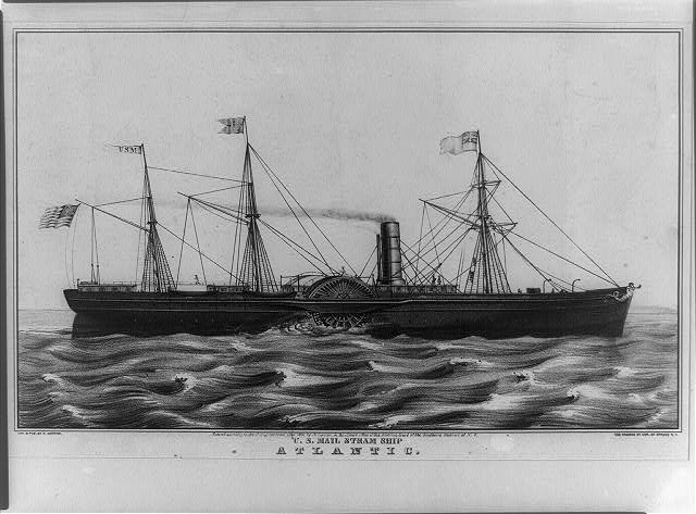 U.S. mail steam ship Atlantic