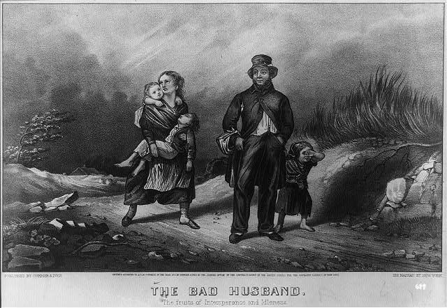 The bad husband: the fruits of intemperance and idleness