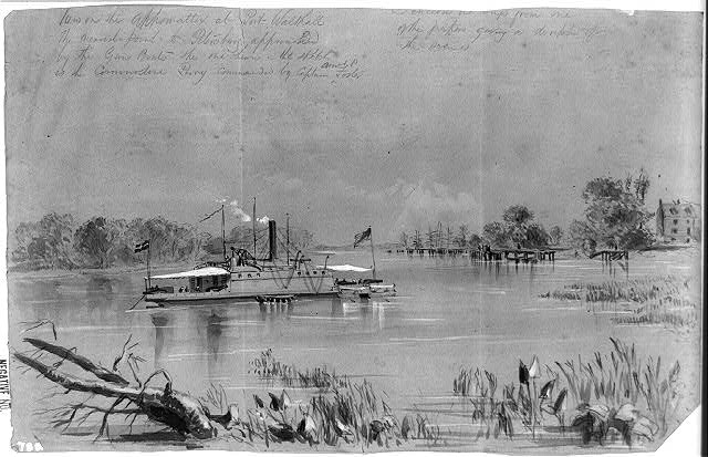 Views on the Appomattox at Port Walthall