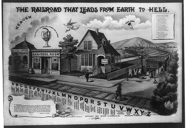 The railroad that leads from Earth to hell