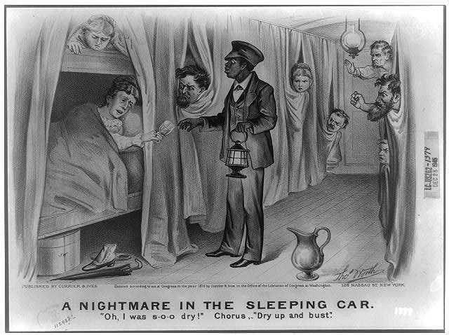A nightmare in the sleeping car: &quot;oh, I was s-o-o dry!&quot; chorus,--&quot;dry up and bust.&quot;