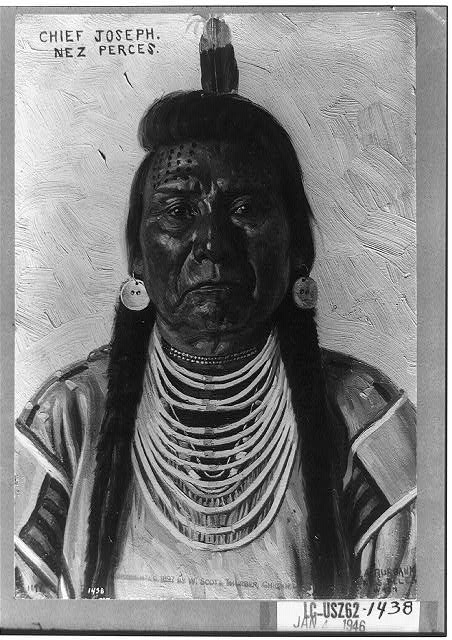 Chief Joseph, Nez Perces