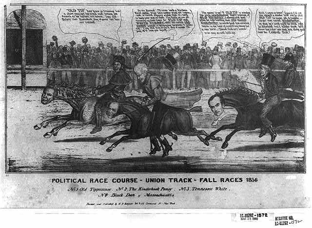 Political race course - Union Track - fall races 1836