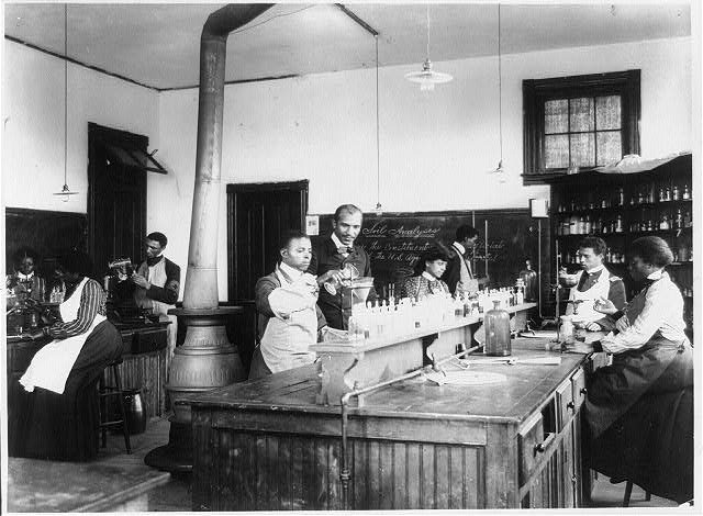 [Laboratory at Tuskegee Institute, Ala.]