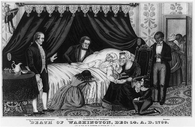 Death of Washington, Dec: 14. A.D. 1799