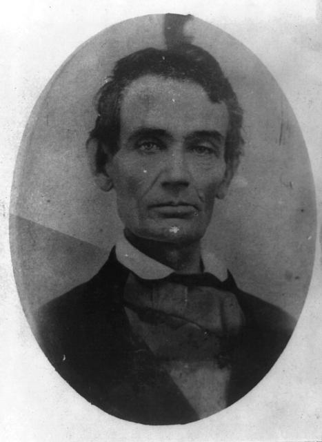 [Abraham Lincoln, head-and-shoulders portrait, facing front]