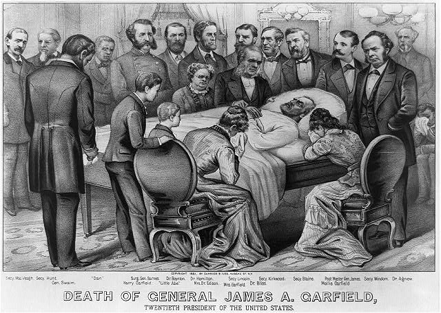 Death of General James A. Garfield: Twentieth President of the United States