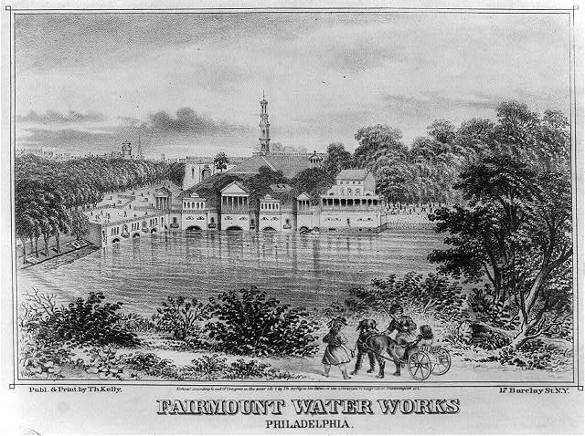 Fairmount Water Works- Philadelphia