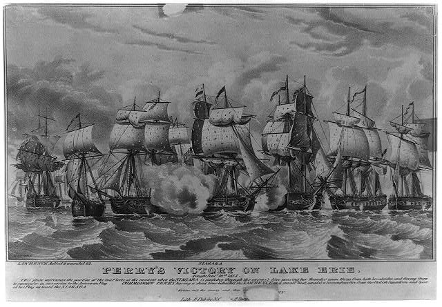Perry's victory on Lake Erie: fought Septr. 10th 1813