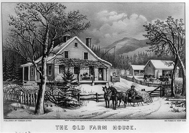 The old farm house