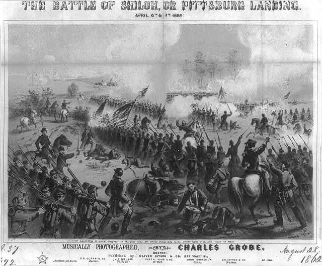 The Battle of Shiloh, or Pittsburg Landing, April 6th &amp; 7th, 1862