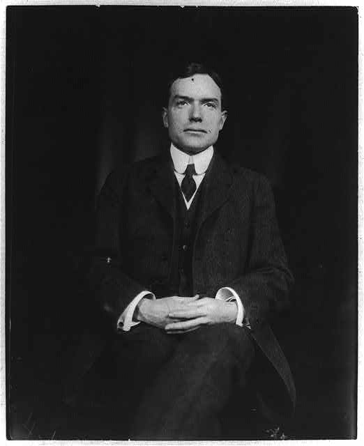 [John D. Rockefeller, Jr., three-quarter length portrait, seated, facing front]
