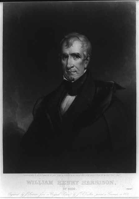 William Henry Harrison of Ohio
