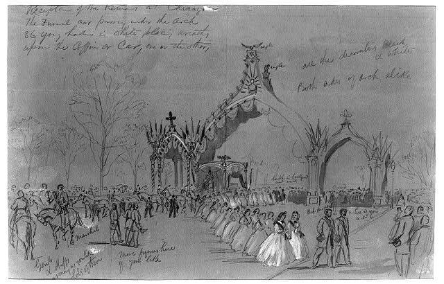 Reception of the Remains at Chicago