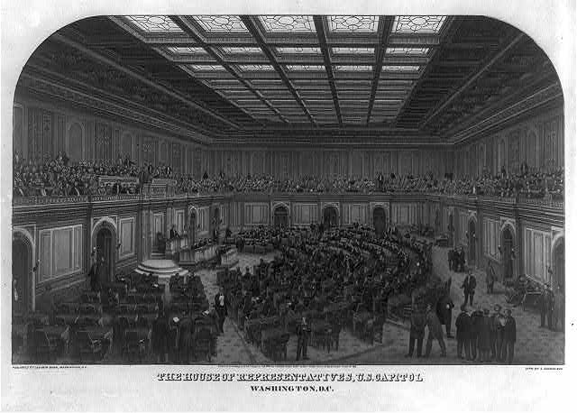 The House of Representatives, U.S. Capitol, Washington, D.C.
